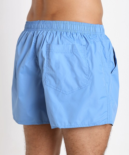 John Sievers Natural Pouch Swim Shorts Ice Blue