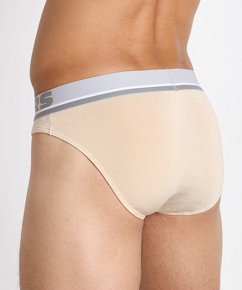 John Sievers Natural Pouch Low Rise Brief Stone