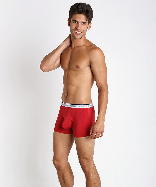 John Sievers Natural Pouch Boxer Briefs Racing Red