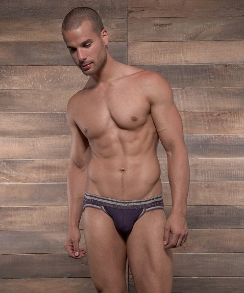 C-IN2 Zen Active Sport Brief Plum Wine