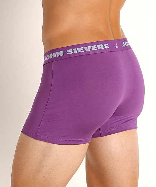 John Sievers SOLID Natural Pouch Boxer Briefs Power Purple