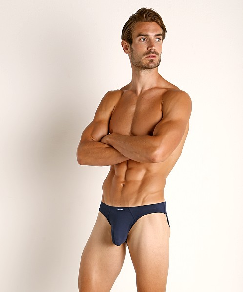 John Sievers LUX Natural Pouch Low Rise Brief Midnight
