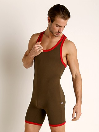 You may also like: American Jock Equipo Wrestling Singlet Olive