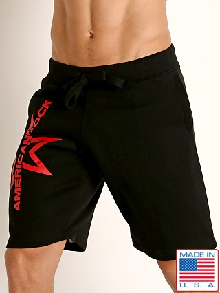 American Jock Equipo Drill Short Black