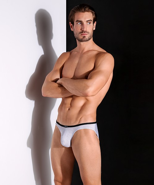 Gregg Homme Feel It Brief Light Grey/Orange
