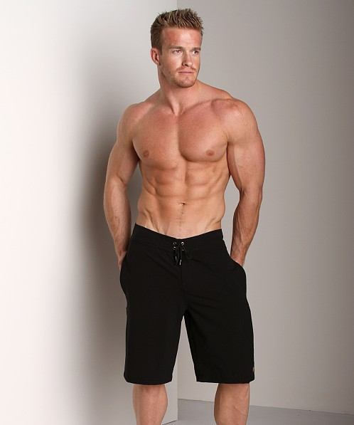 Hugo Boss Cat Cay Board Shorts Black