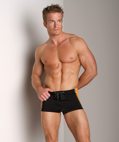 Hugo Boss Panarea Swim Trunk Black