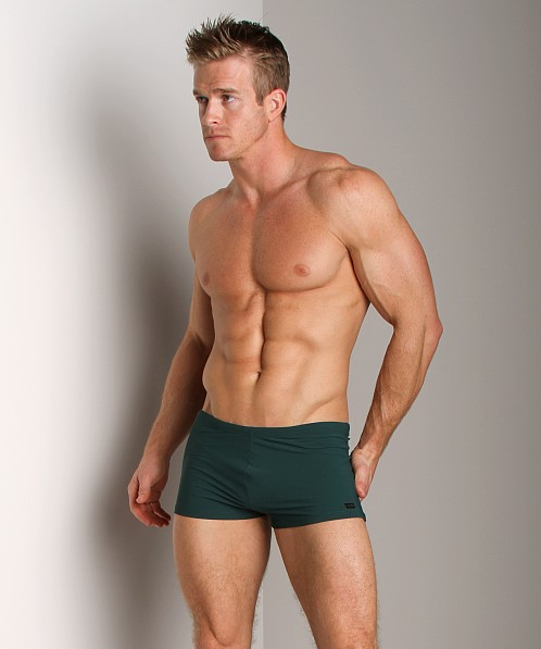 Hugo Boss Oyster Swim Trunk Green