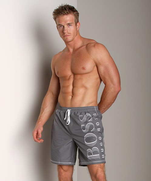 Hugo Boss Killifish Swimsuit Grey