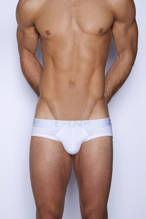 C-IN2 Core Lo No Show Brief White