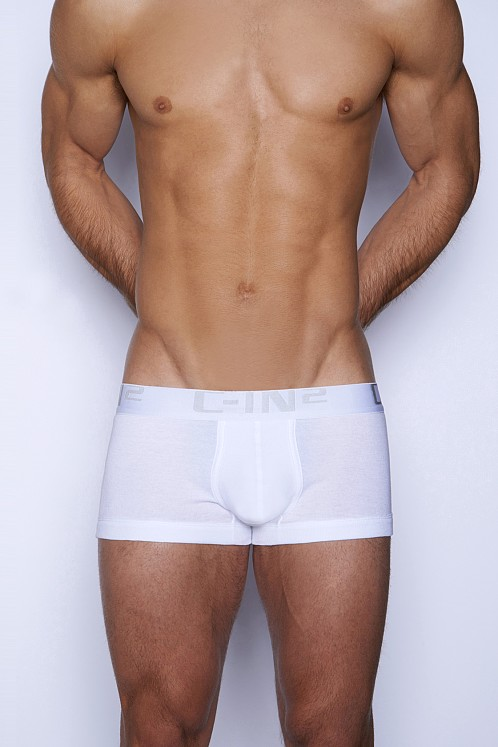 C-IN2 Core Lo No Show Army Trunk White