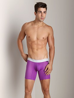 IntyMen Sports Mesh Trunk Purple