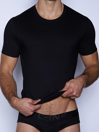 Complete the look: C-IN2 Core Crew Neck Pima Tee Black