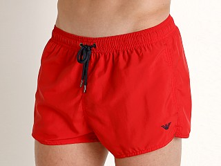 Emporio Armani Iconic Swim Shorts Red