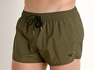 Emporio Armani Iconic Swim Shorts Military Green