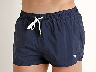 Emporio Armani Iconic Swim Shorts Navy Blue