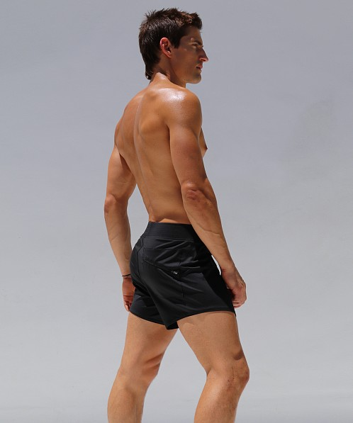 Rufskin Twelve Perfo-Nylon Workout Short Black