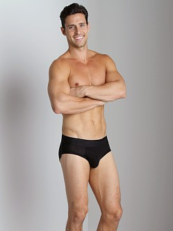Tommy John Second Skin Brief Black