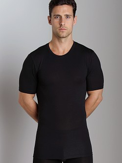 Tommy John Second Skin Crew Neck Black
