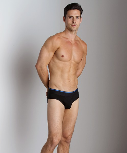 Tommy John 360 Active Brief Black