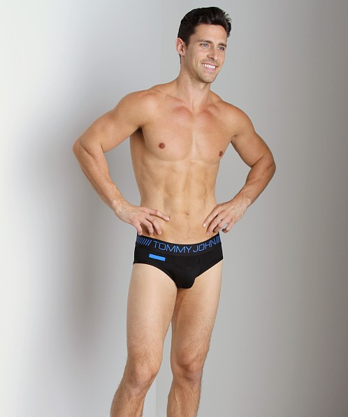 Tommy John 360 Sport Brief Black