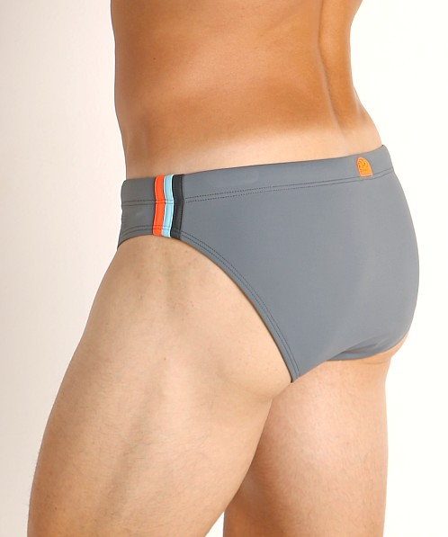 "Sundek 2.5"" Archangel Swim Brief Medium Grey #7"
