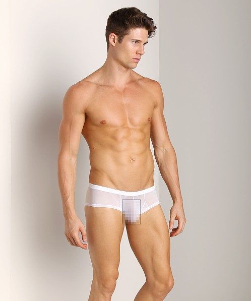 Good Devil Zoom Boxer Sheer White