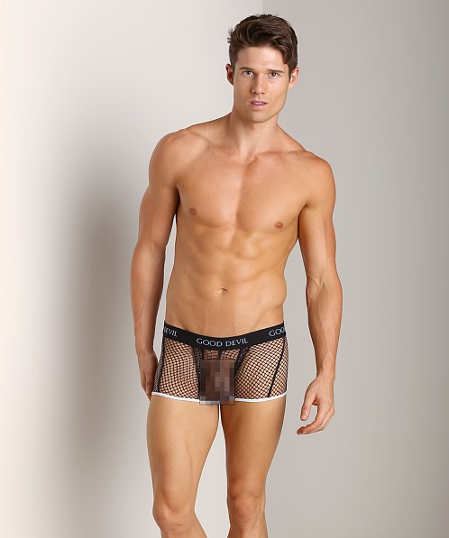 Good Devil Big Mesh Trunk Black