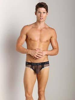 Good Devil Big Mesh Brief Black