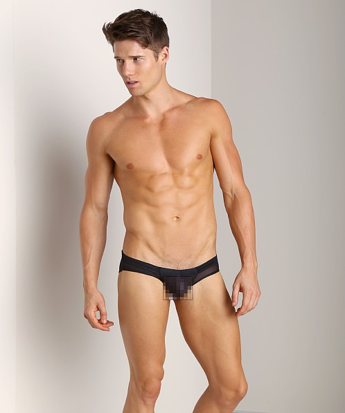 Good Devil Hose Mesh Mini Trunk Black