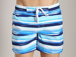 2xist Awning Stripe Hampton Swim Boxer White