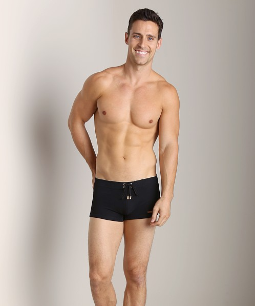 2xist Gold Cabo Swim Trunk Black