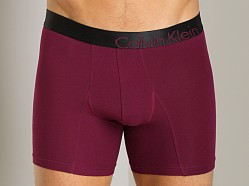 Calvin Klein Bold Cotton Boxer Brief Cherry Shadow