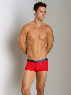 Calvin Klein Prostretch Reflex Low Rise Trunk Brilliant Red