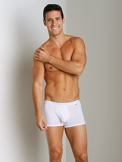 Calvin Klein CK One Cotton Holiday Low Rise Trunk White