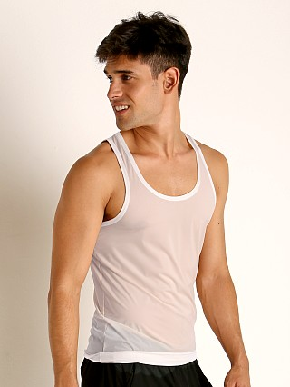 Complete the look: Rick Majors Slinky Classic Tank Top White