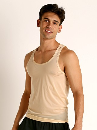 Complete the look: Rick Majors Slinky Classic Tank Top Tan