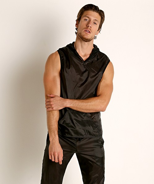 Go Softwear Hard Core Fluid Sleeveless Hoody Black