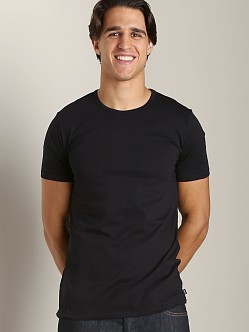Diesel Essential Dave 100% Cotton T-Shirt Black