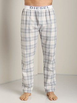 Diesel Derik Plaid Lounge Pants Grey