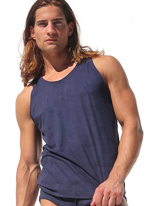 Complete the look: Rufskin Pony Eco Suede Microfiber Tank Top Navy