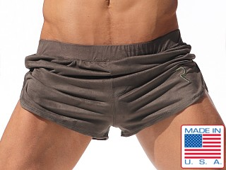 Rufskin Saddle Eco Suede Sport and Lounge Shorts Olive