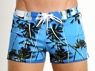 You may also like: Sauvage Italian Lycra Swim Short Caribbean Beach Print