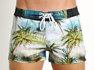 You may also like: Sauvage Italian Lycra Swim Short Tahiti Palms Print