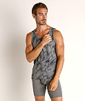 Timoteo Aero Sport Tank Top Grey, view 2