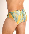 2EROS Australiana Swim Brief Banksia Print, view 4