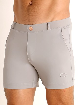 Model in alloy 2EROS Bondi Swim Shorts