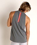 Under Armour Baseline Cotton Tank Top Pitch Gray/Beta, view 4
