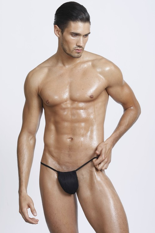 Gregg Homme Risque Thong Black