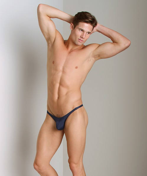 Cover Male Pouch Enhancing Brazilian Bikini Navy